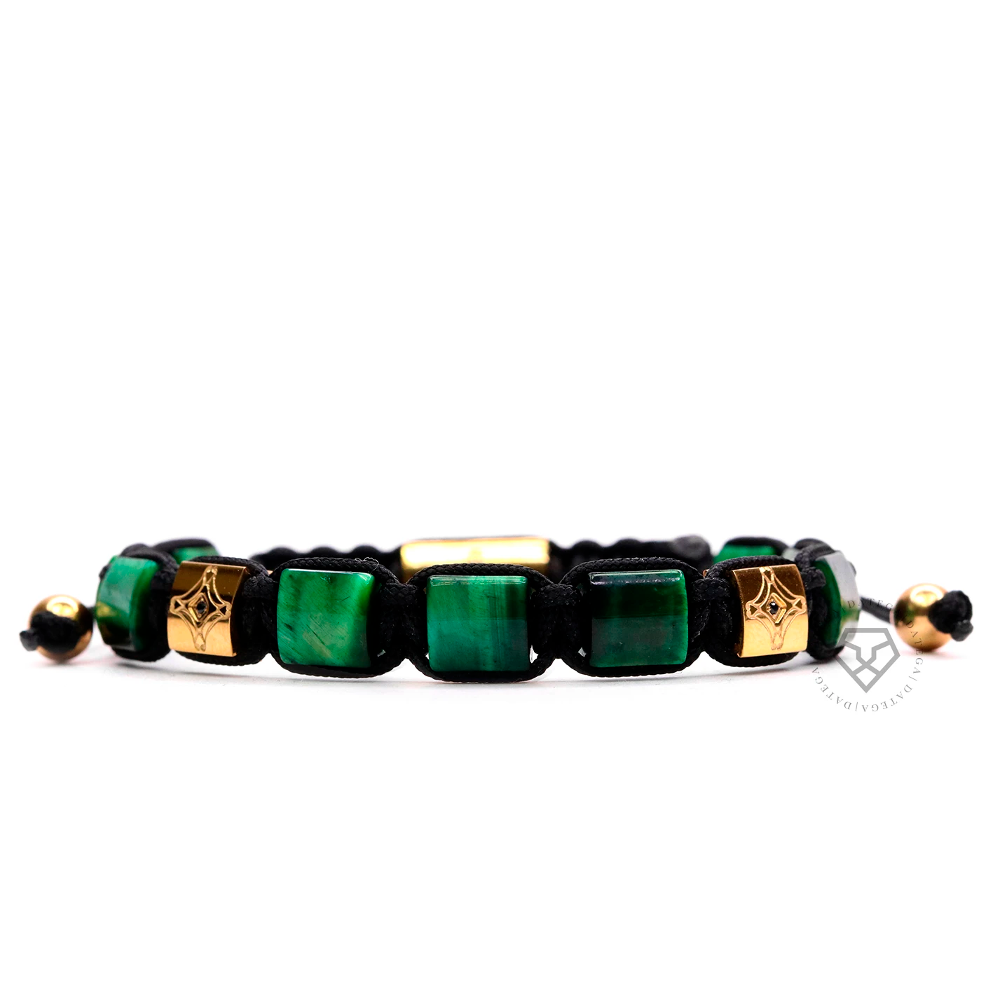 Green Tiger Eye Star Bracelet
