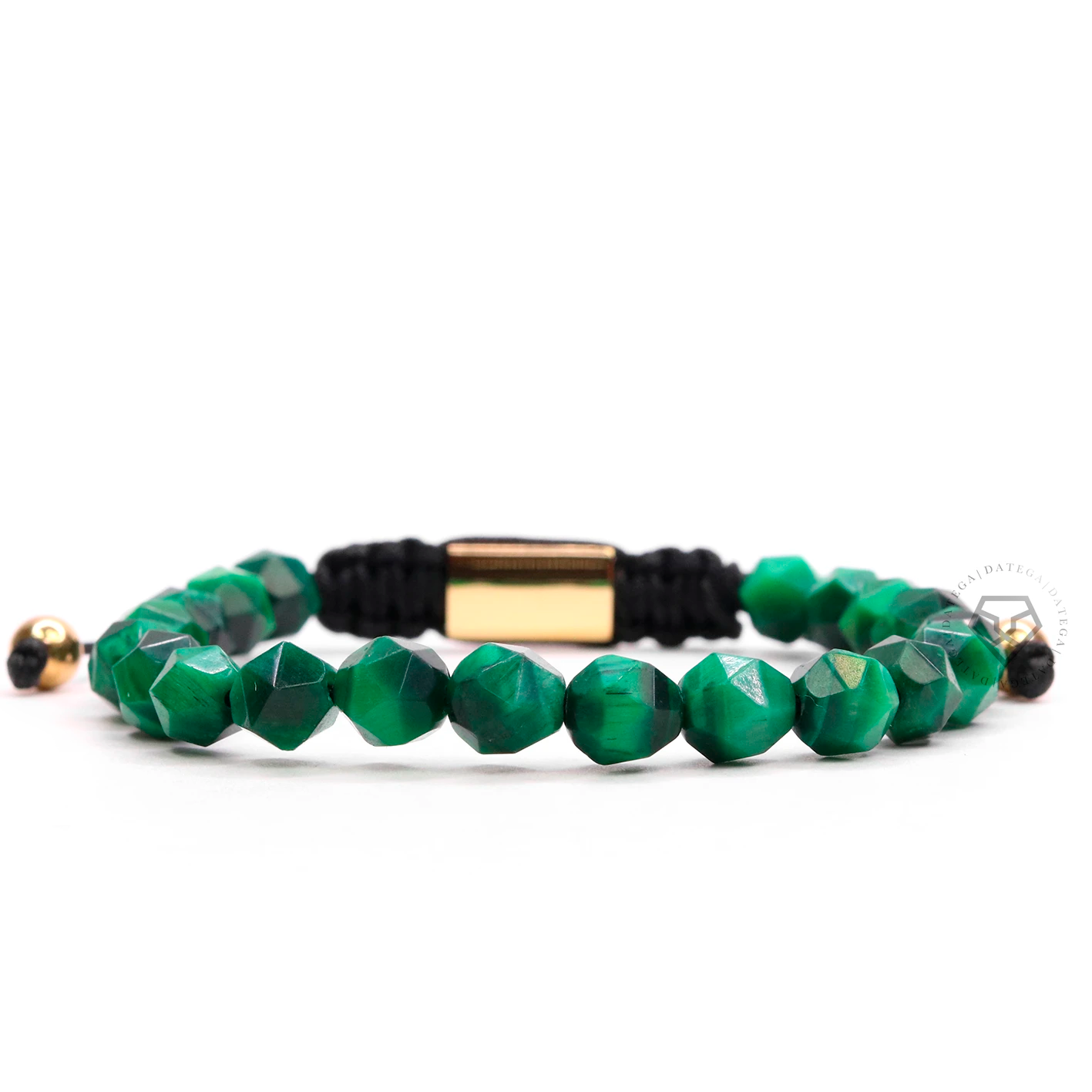 Rock Chain Green Tiger Eye