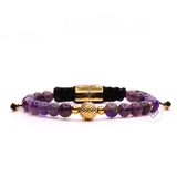 EXXE Sphere Yellow Gold & Amethyst
