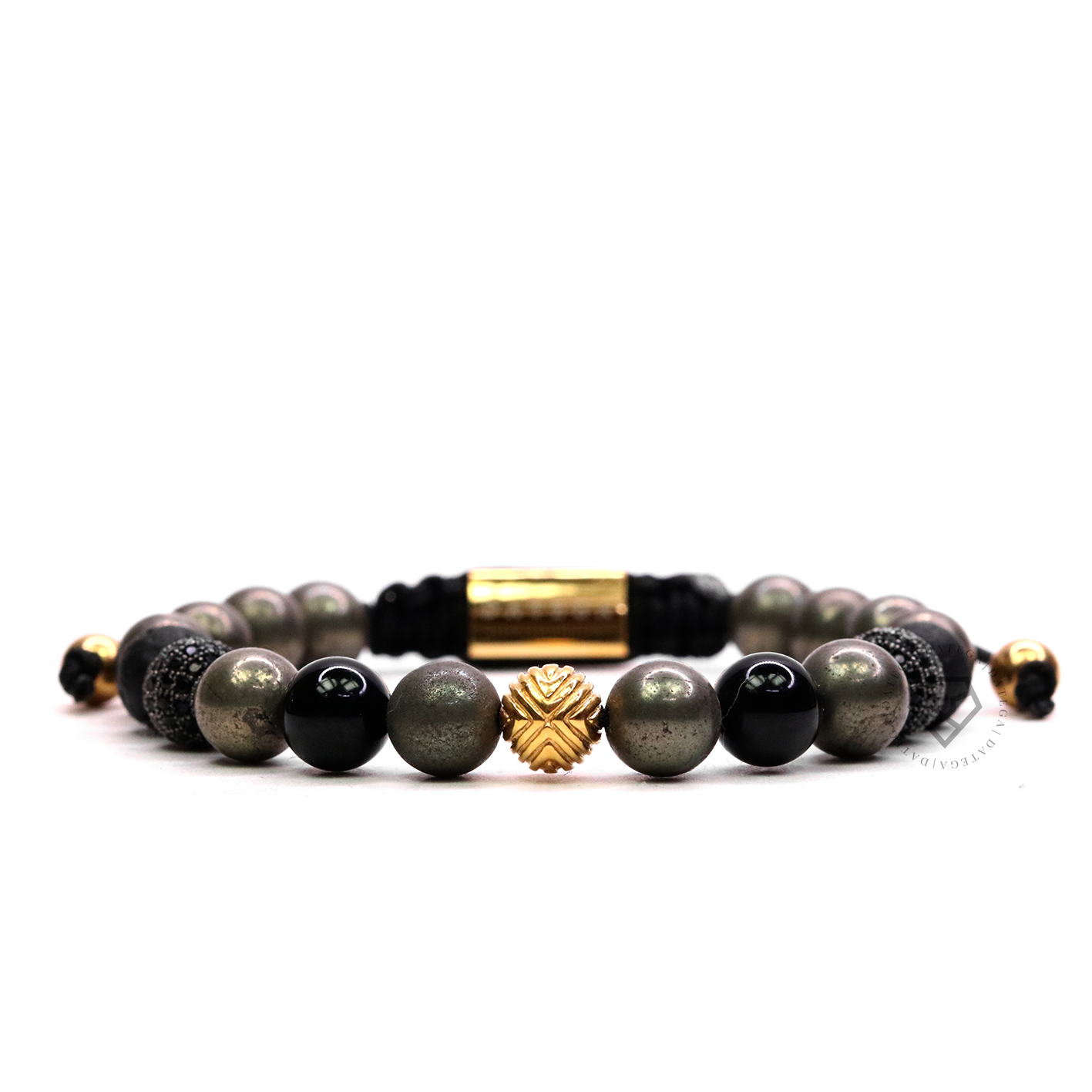 EXXE Sphere Yellow Gold & Pyrite