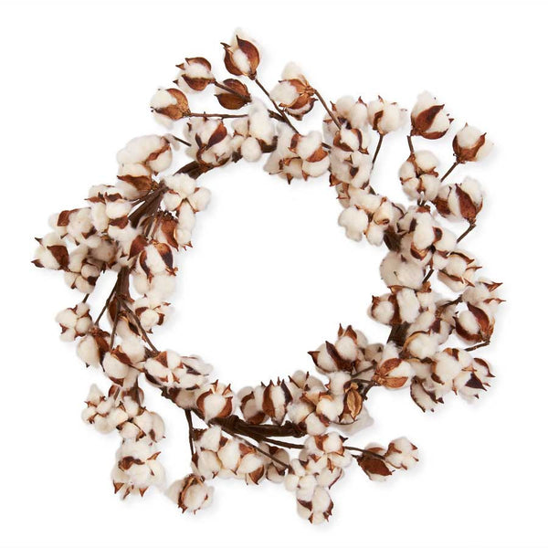 The Dabbs Cotton Pod Wreath