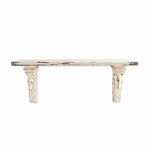 The Maureen distressed shelf (2 sizes available)
