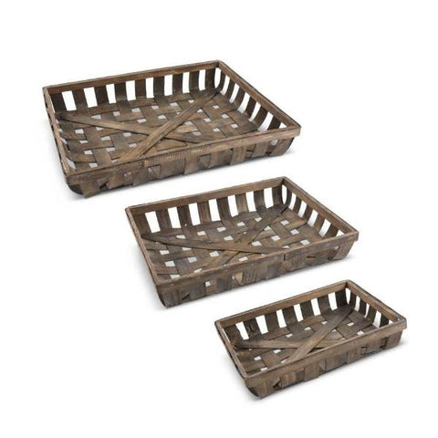 Nesting Tobacco Trays