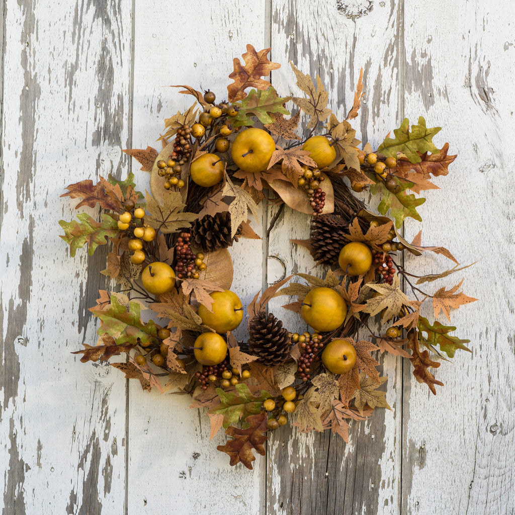 The John Apple and Pine Cone Wreath