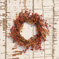 The Tiffany fall wreath