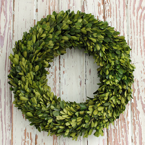 The Bryson Boxwood Wreath