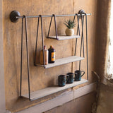 Triple Hanging Shelf *Damaged