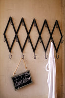 Scissor Coat Rack
