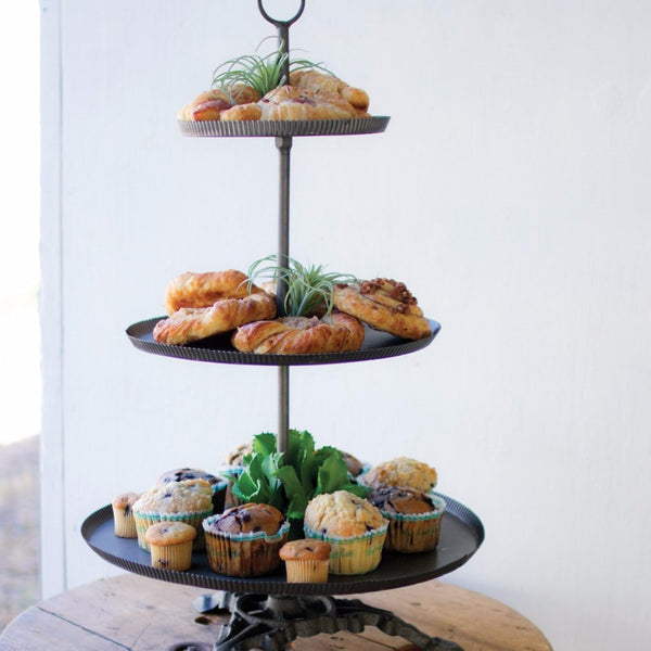 The Justin 3-Tier Tray
