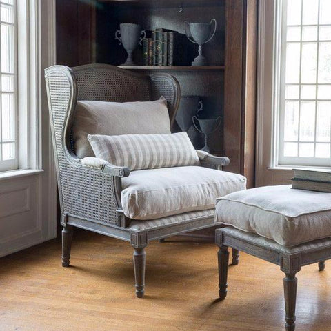 The Meredith Chair and Ottoman