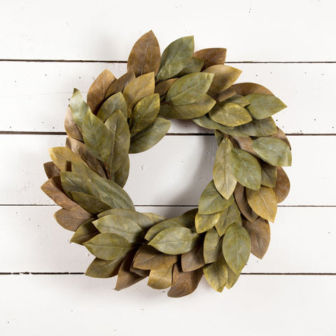 The Mattie Magnolia Wreath