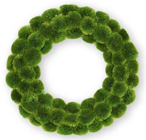 Karla Moss Ball Wreath