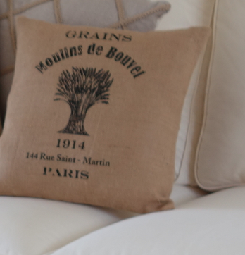 The St. Martin Grain Vintage Pillow