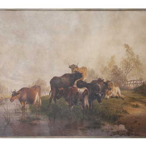 The Vache Painting