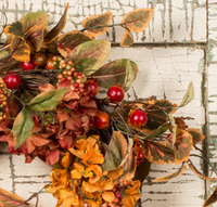 The Gil Rust Berry Wreath