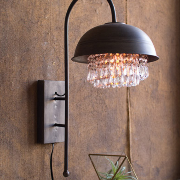 The Gemma Wall Lamp