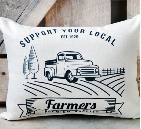Support your local Farmers Pillow