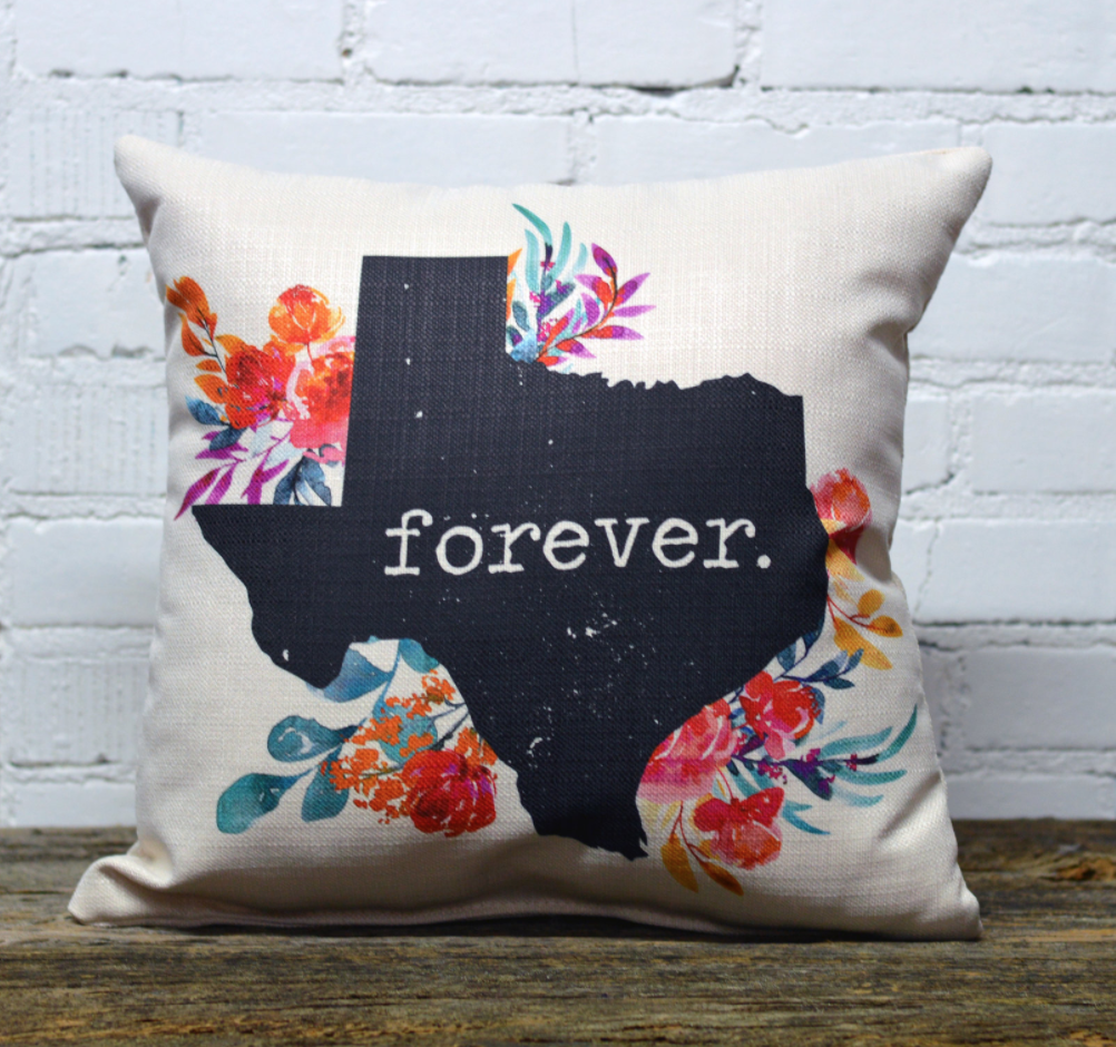 Texas Forever Pillow