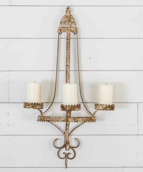 The Angela Metal Wall Sconce