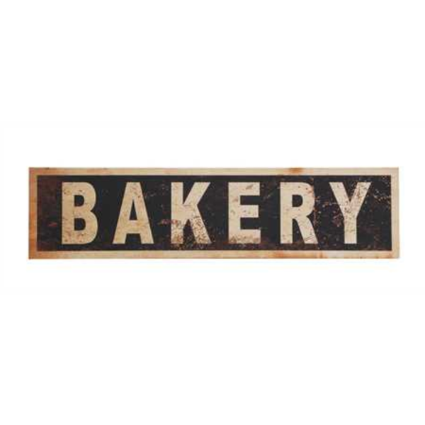 Hallie Bakery Wall Sign