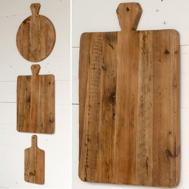 The Edwin Pine Cutting Boards (sold separately)
