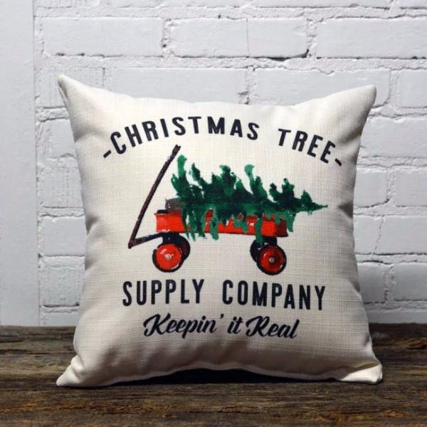 Christmas Tree Supply Co Pillow