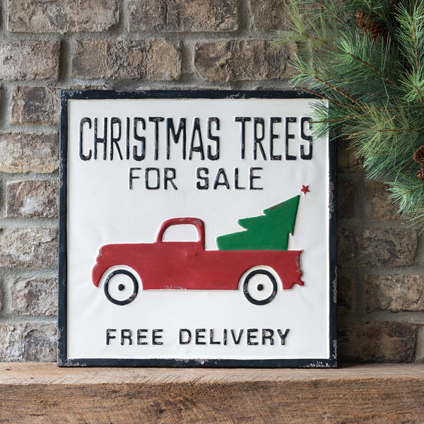 Christmas Trees for Sale Sign