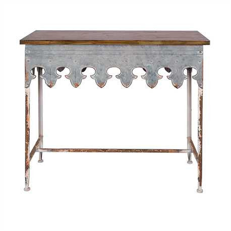 The Corbin Scalloped Table