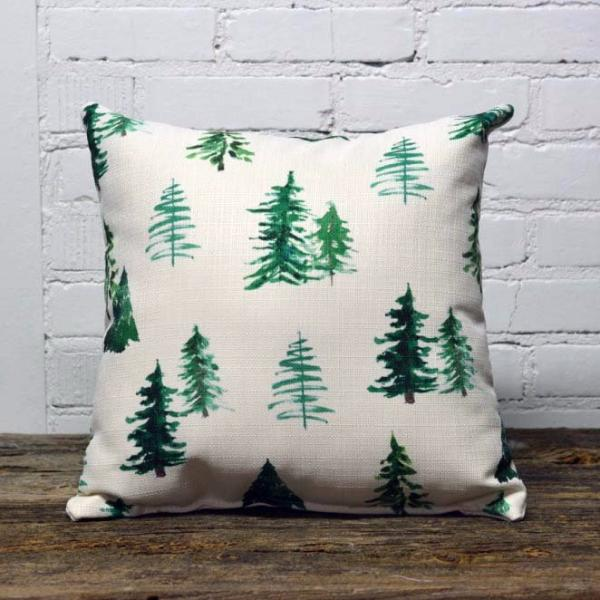 Christmas Tree Pattern Pillow