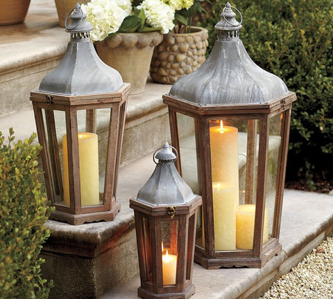 The Trista Lanterns (sold individually)