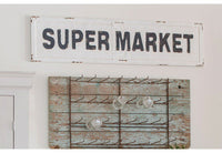 The Wesley Super Market Sign