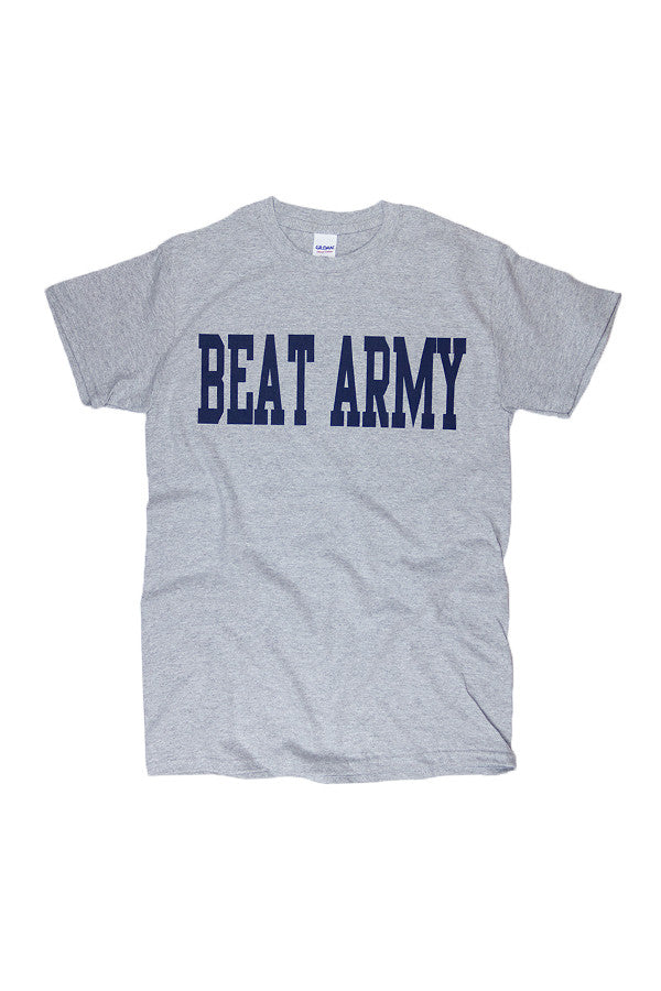 BEAT ARMY T-Shirt (grey) - Annapolis Gear