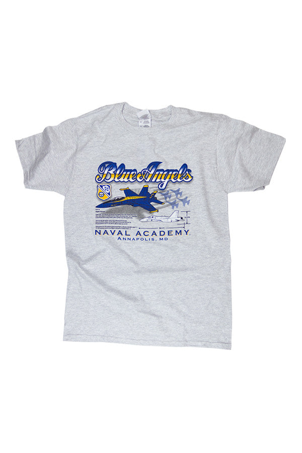 KIDS BLUE ANGELS Naval Academy T-Shirt - Annapolis Gear