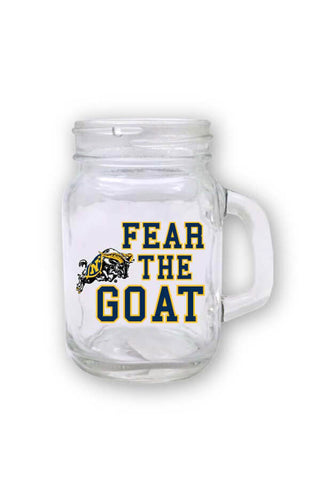 USNA Fear The Goat Mini Mason Jar - Annapolis Gear