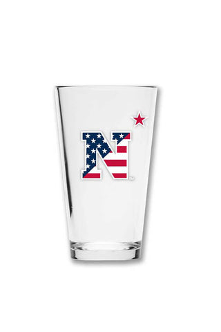 USNA USA N-Star Pint Glass - Annapolis Gear