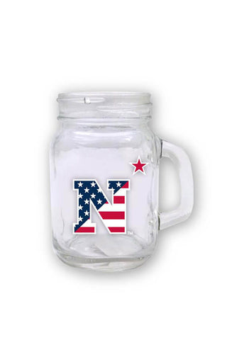 USNA USA N-Star Mini Mason Jar - Annapolis Gear