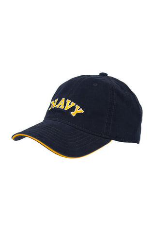 KIDS NAVY Arch Hat (navy) - Annapolis Gear