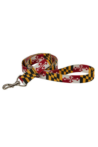 MD Flag Dog Leash (6') - Annapolis Gear