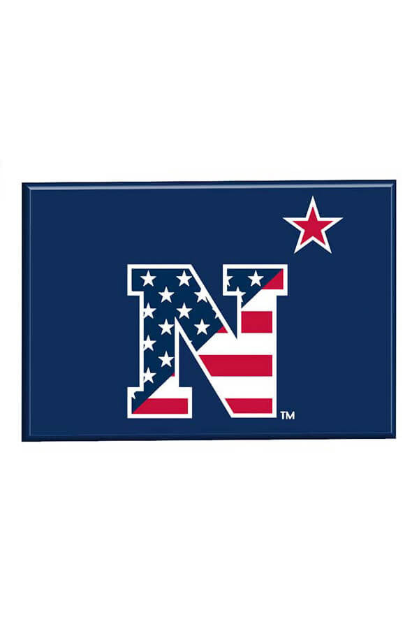 USNA USA N-Star Fridge Magnet - Annapolis Gear