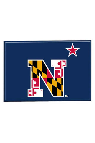 USNA MD Flag N-Star Fridge Magnet - Annapolis Gear