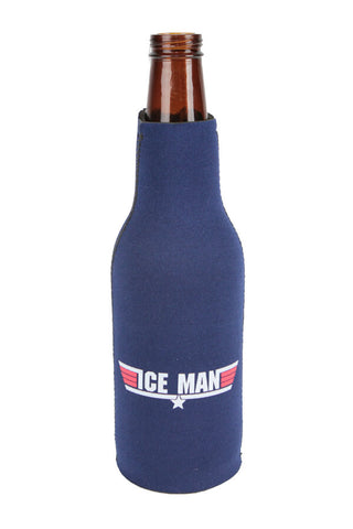 TOP GUN Ice Man Bottle Koozie - Annapolis Gear