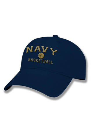 NAVY Basketball Hat (navy) - Annapolis Gear