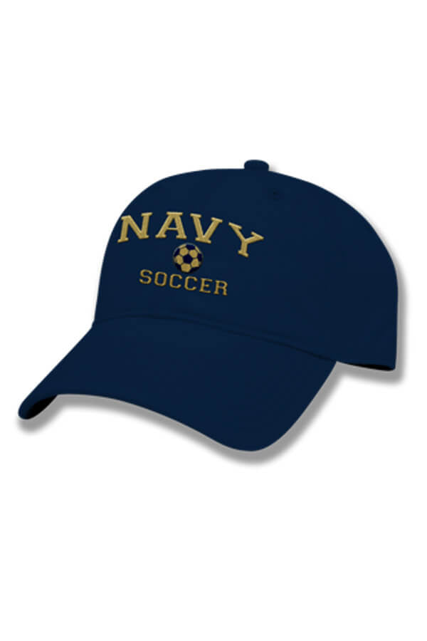 NAVY Soccer Hat (navy) - Annapolis Gear