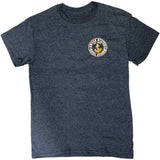 USNA Knock Out Anchor T-Shirt (heather navy)