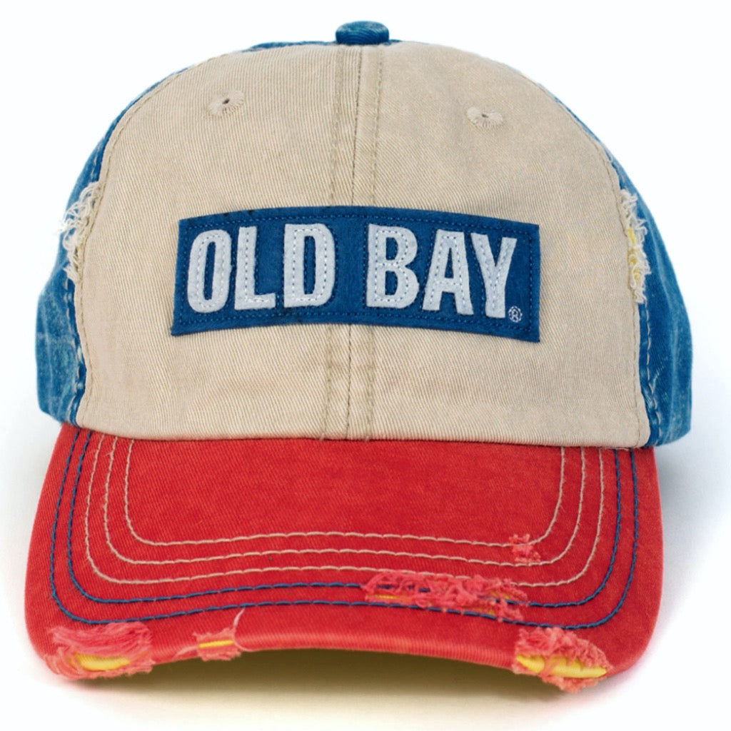 OLD BAY® Distressed Logo Hat