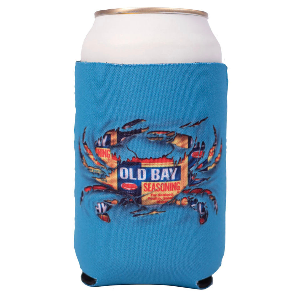 OLD BAY® Ripped Crab Can Koozie