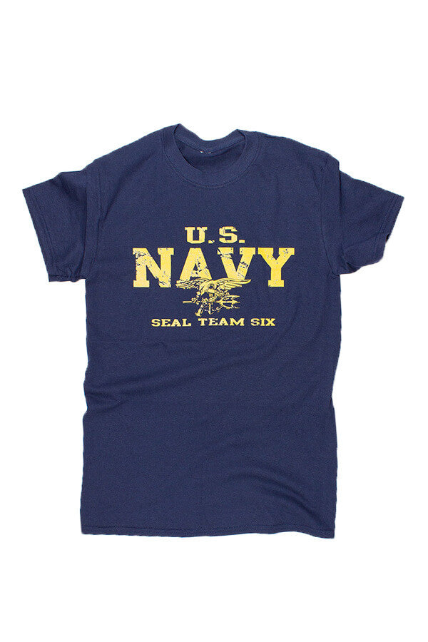 U.S. NAVY SEALS T-Shirt (navy) - Annapolis Gear