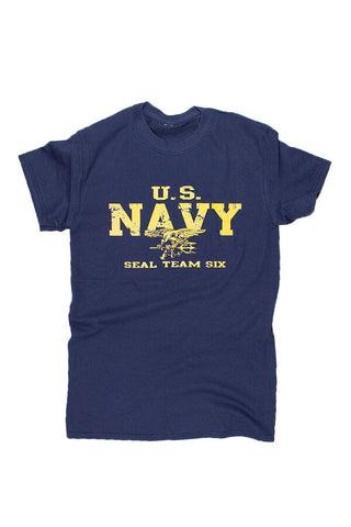 KIDS U.S. NAVY SEALS T-Shirt (navy) - Annapolis Gear