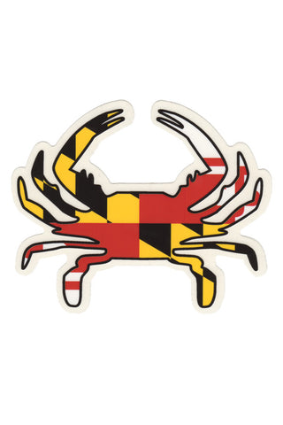 MD Flag Crab Decal - Annapolis Gear