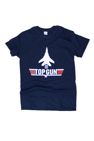KIDS TOP GUN Logo T-Shirt (navy) - Annapolis Gear